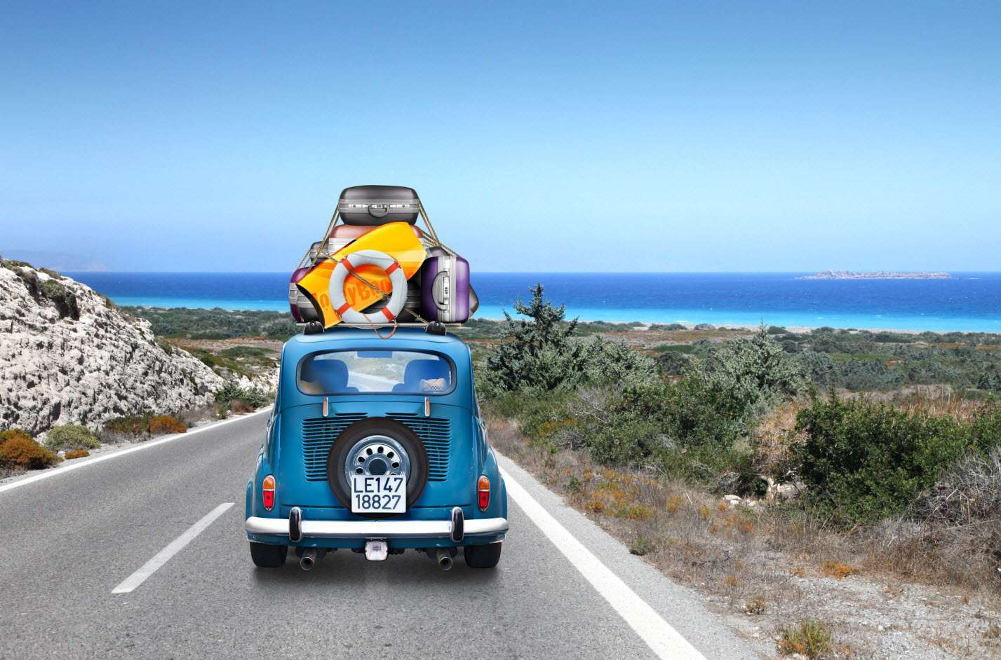 Capi e accessori per una vacanza on the road