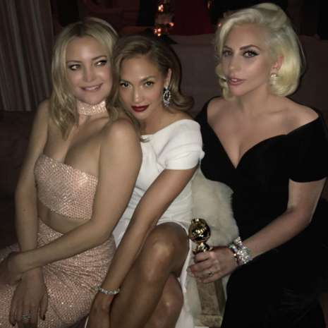 Jennifer Lopez, Lady Gaga e Kate Hudson