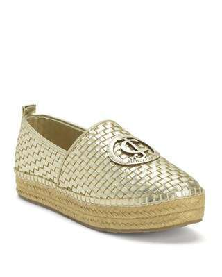 Espadrillas color oro