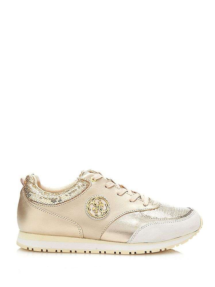 Sneakers color oro di Guess