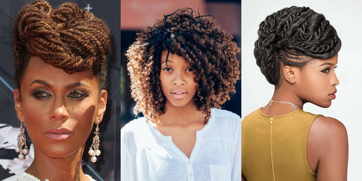 Le acconciature afro-chic