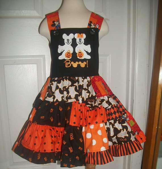 Abito patchwork per Halloween