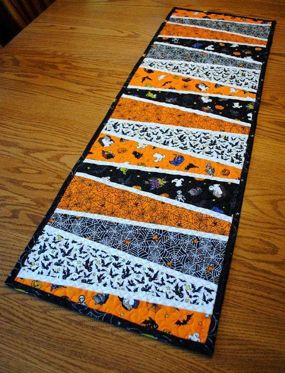 Tappeto patchwork per Halloween