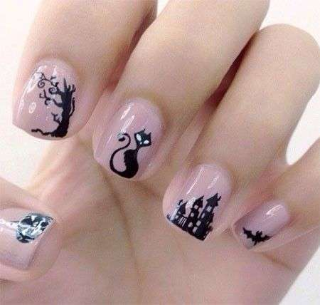Nail art con gattini...