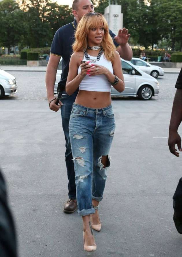 Jeans boyfriend e crop top