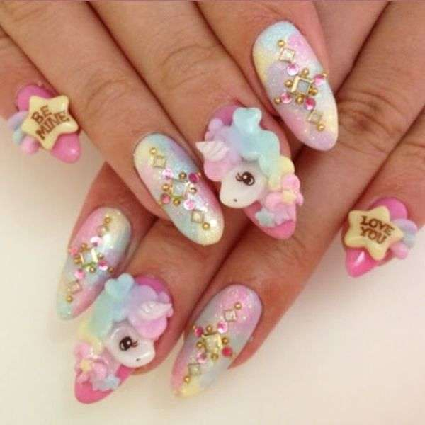 La manicure Kawaii con i Little Pony