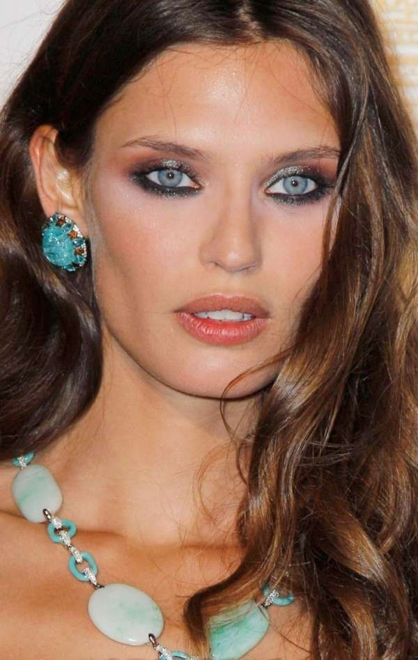 Smokey eyes color pesca
