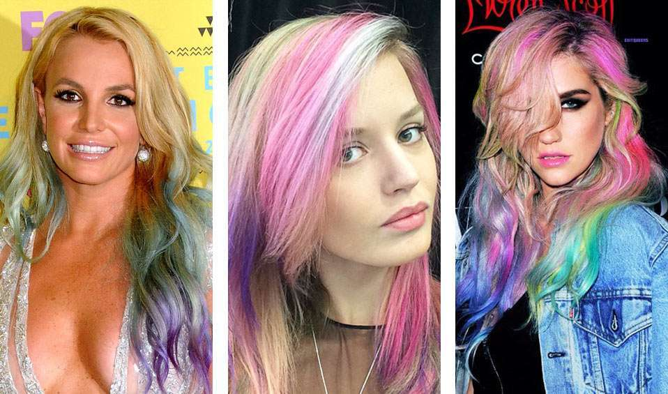 Le star con i rainbow hair