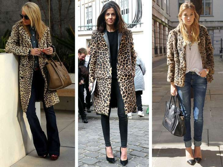 Look con fantasie animalier
