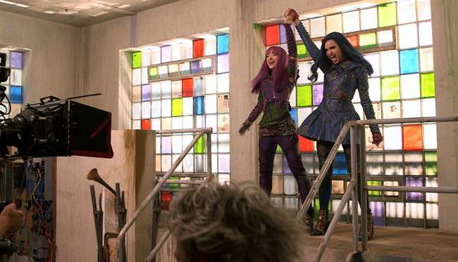 Descendants 2: foto dal backstage