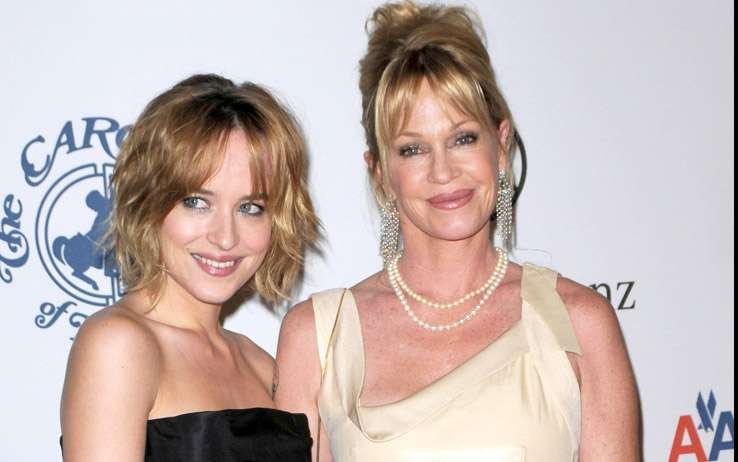 Dakota è figlia di Don Johnson e Melanie Griffith