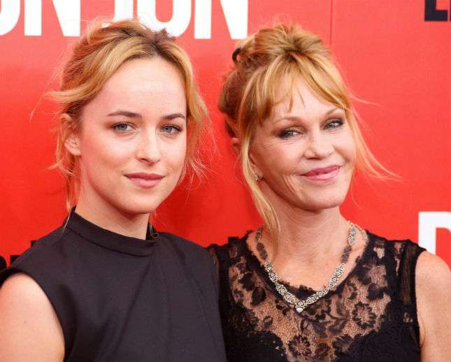 Dakota Johnson e Melanie Griffith
