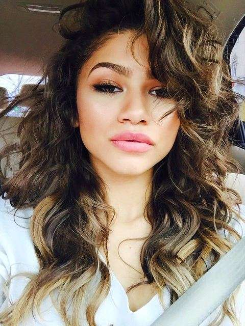 I beauty look di Zendaya
