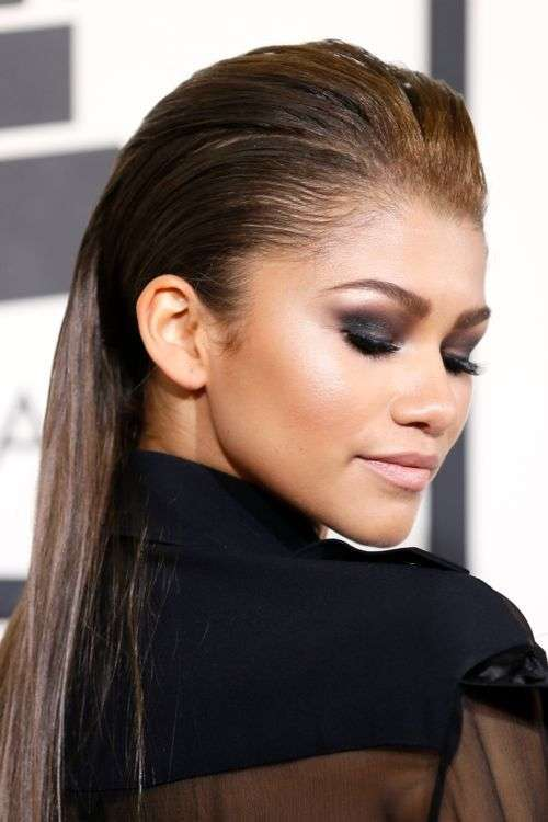 Lo smokey eyes nero di Zendaya
