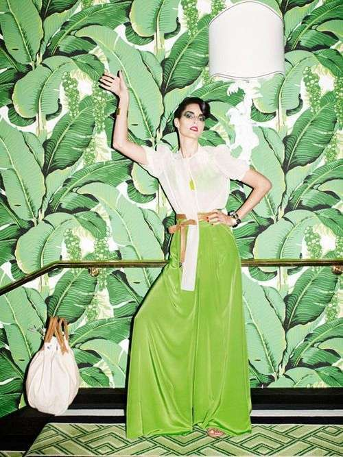 Moda color Greenery 2017