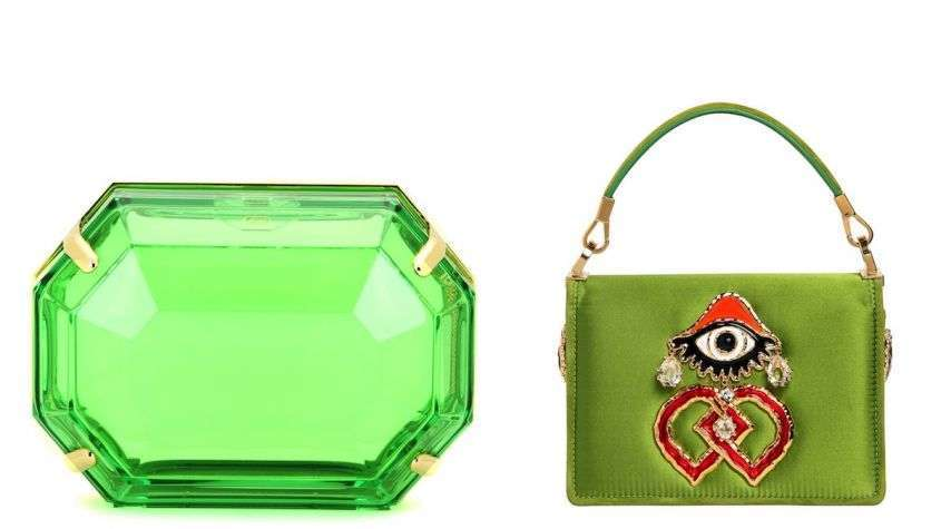 Mini bag color Greenery