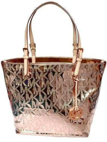 Shopper bag color oro metallizzato