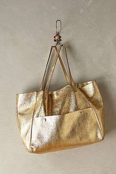 Shopper bag color oro