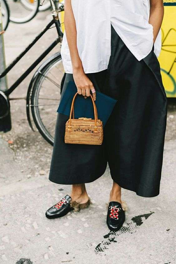 Mini bag in vimini per la primavera 2017