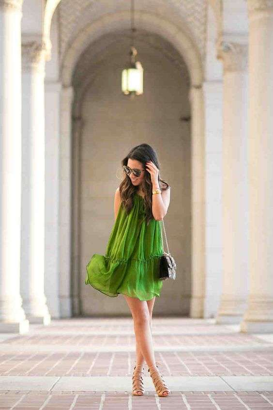 Look in verde per la primavera 2017