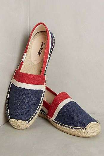 Espadrillas in denim colorato