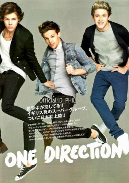 One Direction per Anan: il photoshoot della band per il magazine!