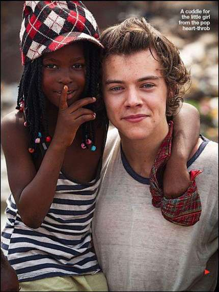 One Direction in Ghana: le foto più belle ed emozionanti