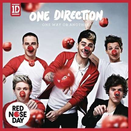 One Direction: foto per il Red Nose Day 2013!