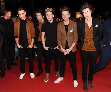 One Direction agli NRJ Music Awards 2013: foto sul red carpet!