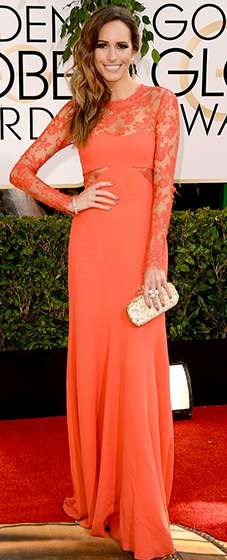 Golden Globe 2014 - Louise Roe