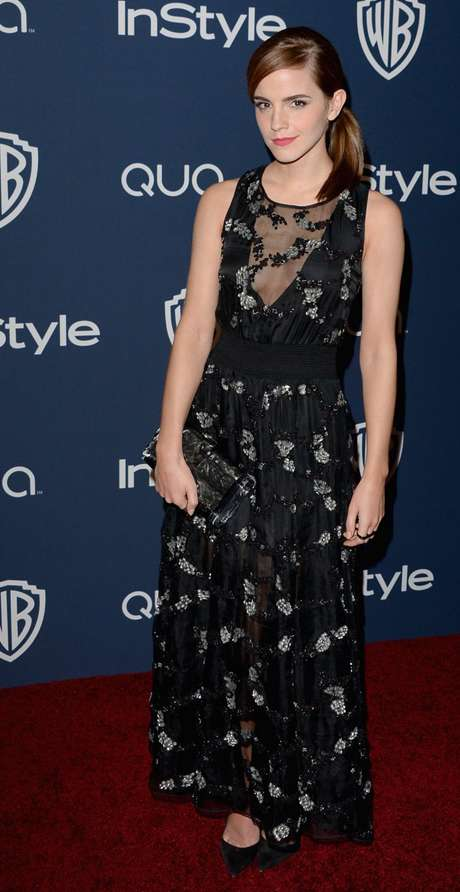 Golden Globe 2014 - Emma Watson party