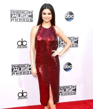 AMAs 2015 red carpet - Selena Gomez