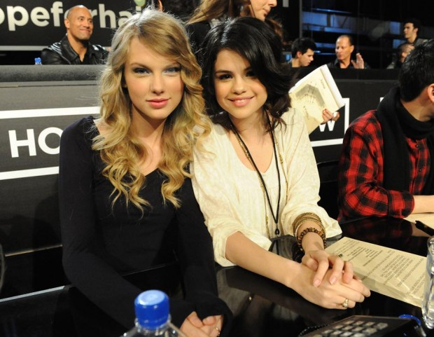 1Taylor Swift e Selena Gomez