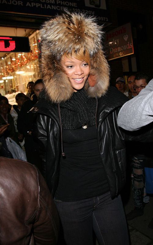 Rihanna spotted shopping in New York City