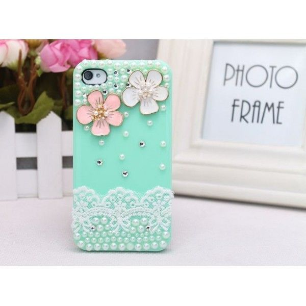 4Cover con perline e fiori