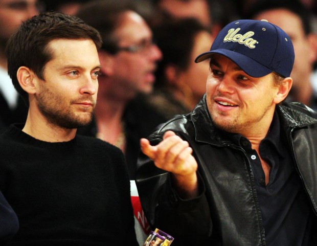 4Leonardo DiCaprio and Tobey Maguire