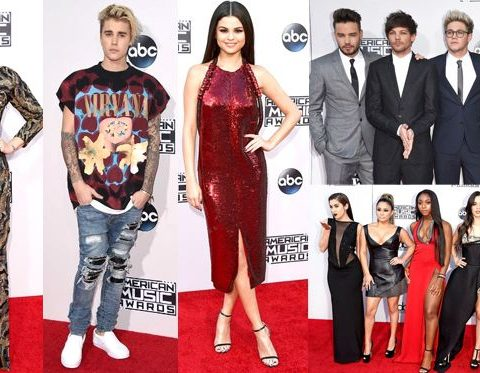 AMAs 2015 Tutti i look dal red carpet
