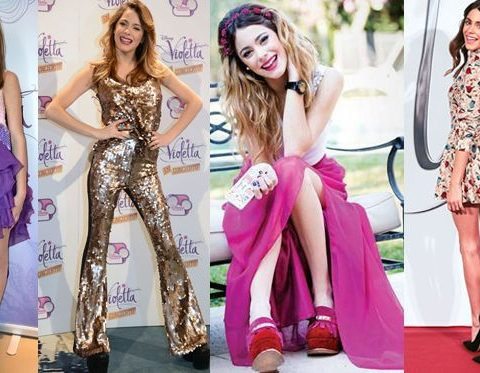 Martina Stoessel look 2012 a 2016
