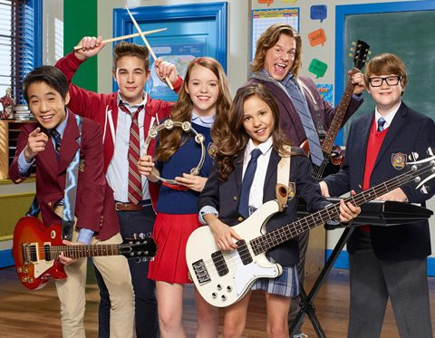 School of rock cast serie nickelodeon