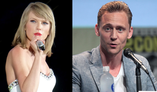 Taylor Swift Tom Hiddleston fidanzati bacio foto