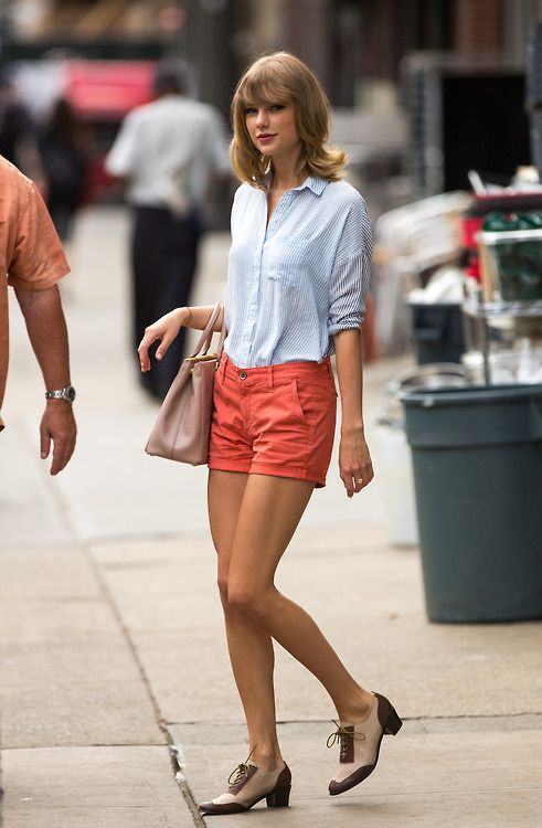 Taylor Swift in New York.