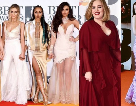 brit awards migliori look
