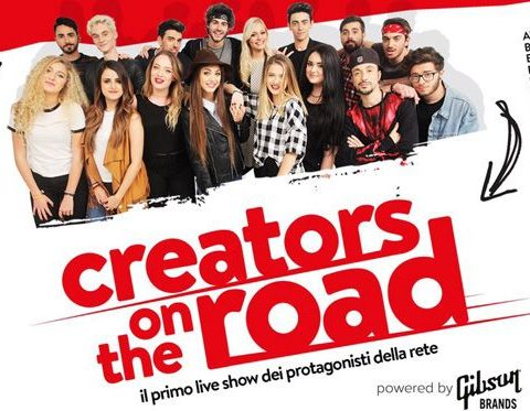 creators on the road tour date tappe biglietti