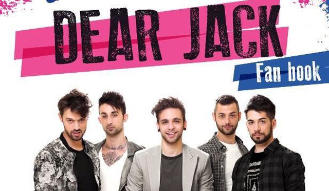 dear jack fan book libro