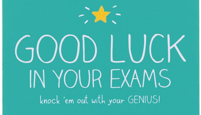 Good Luck On Your Exam Quotes: Esami Di Terza Media E Prove Invalsi: Le Frasi Per