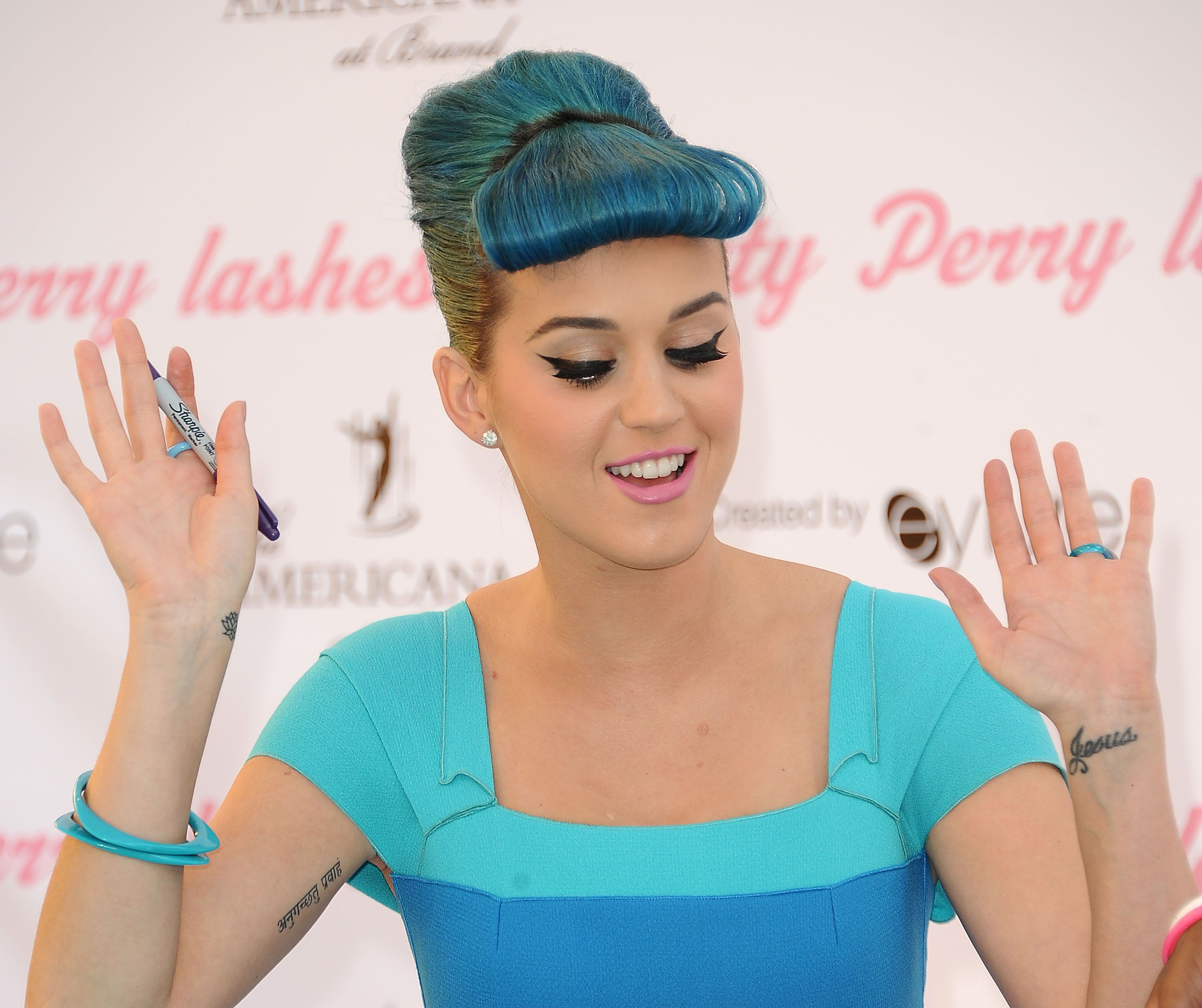 Katy Perry Launch Party For Her Exclusive False Lash Range By Eylure