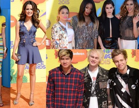 kids choice awards 2015 look red carpet tappeto rosso