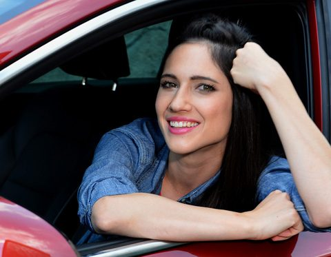 lodovica comello singing in the car 2 tv8