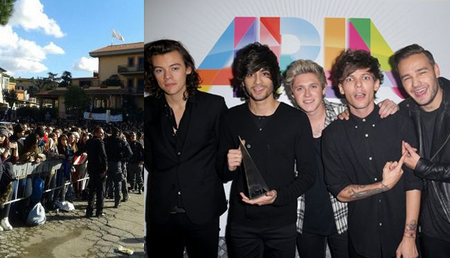 one direction italia dicembre 2014 tv