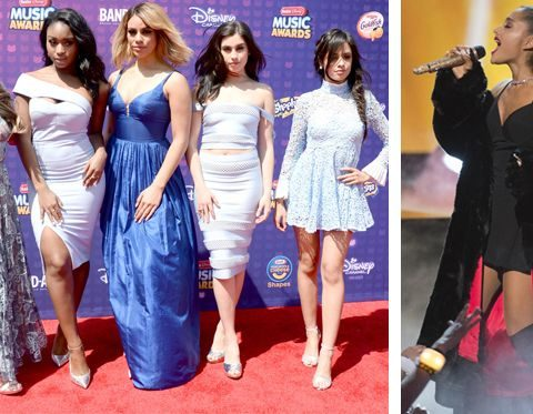 radio disney music awards 2016 vincitori ariana grande fifth harmony